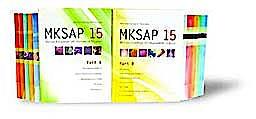 Portada del libro 9781934465257 Mksap 15 Medical Knowledge Self-Assessment Program Parts a and B, 12 Vols.