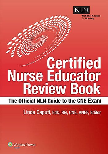 Portada del libro 9781934758205 Nln's Certified Nurse Educator Review. the Official National League for Nursing Guide