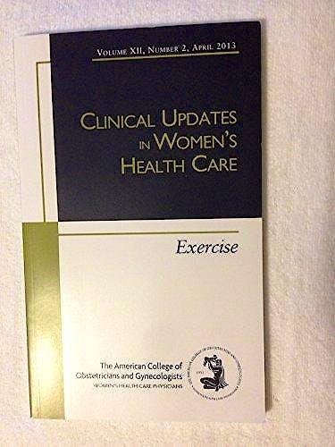 Portada del libro 9781934984215 Exercise (Clinical Updates in Women Health Care)