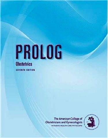 Portada del libro 9781934984222 Prolog. Obstetrics