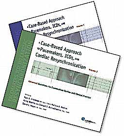 Portada del libro 9781935395454 A Case-Based Approach to Pacemakers, Icds, and Cardiac Resynchronization: 2 Volume Set
