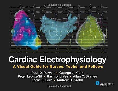 Portada del libro 9781935395515 Cardiac Electrophysiology: A Visual Guide for Nurses, Techs, and Fellows