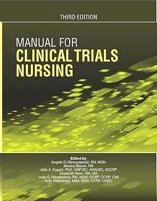 Portada del libro 9781935864370 Manual for Clinical Trials Nursing