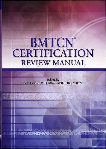 Portada del libro 9781935864882 Bmtcn Certification Review Manual