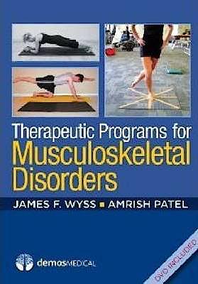 Portada del libro 9781936287406 Therapeutic Programs for Musculoskeltal Disorders + Dvd