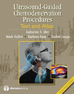 Portada del libro 9781936287604 Ultrasound-Guided Chemodenervation Procedures. Text and Atlas + Dvd
