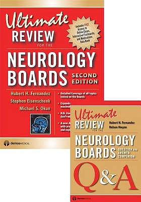 Portada del libro 9781936287611 Ultimate Review for the Neurology Boards. Complete Study Pack (Set)