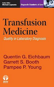 Portada del libro 9781936287963 Transfusion Medicine. Quality in Laboratory Diagnosis