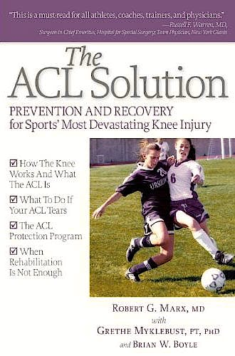Portada del libro 9781936303335 The ACL Book. Prevention and Recovery for Sports Most Devastating Knee Injury