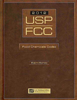 Portada del libro 9781936424054 USP-FCC 2012 Food Chemicals Codex + 3 Supplements