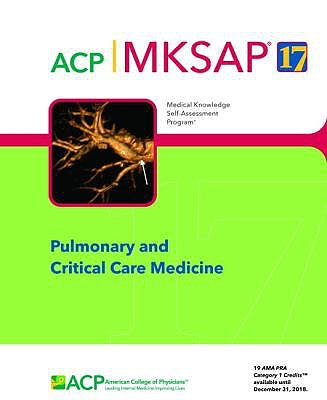 Portada del libro 9781938245299 MKSAP 17 Pulmonary and Critical Care Medicine