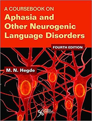 Portada del libro 9781944883096 A Coursebook on Aphasia and Other Neurogenic Language Disorders