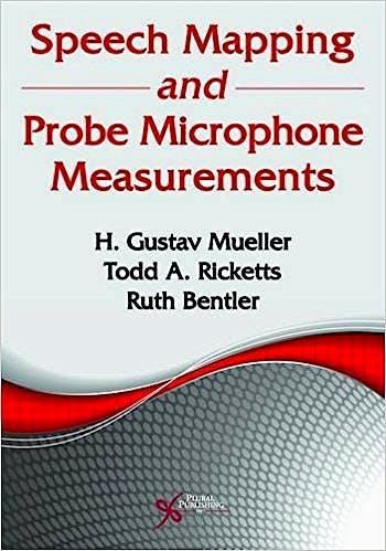 Portada del libro 9781944883942 Speech Mapping and Probe Microphone Measurements