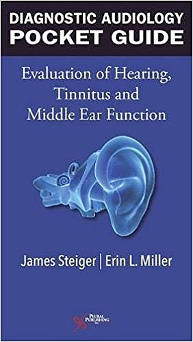 Portada del libro 9781944883973 Diagnostic Audiology Pocket Guide. Evaluation of Hearing, Tinnitus, and Middle Ear Function