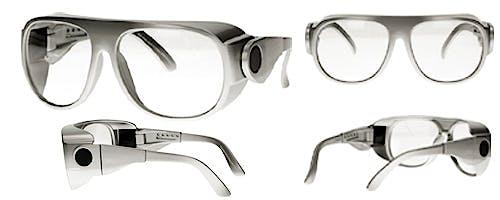 Gafas de Protección Radiológica Mod. Boltz, Eq. Pb 0,75 mm. Frontal y 0,35 mm. Lateral