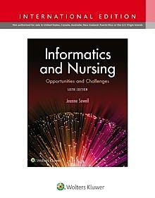 Portada del libro 9781975102081 Informatics and Nursing (International Edition)
