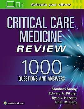 Portada del libro 9781975102906 Critical Care Review. 1000 Questions and Answers