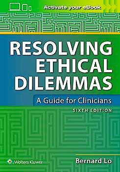 Portada del libro 9781975103545 Resolving Ethical Dilemmas. A Guide for Clinicians