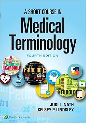 Portada del libro 9781975104696 A Short Course in Medical Terminology