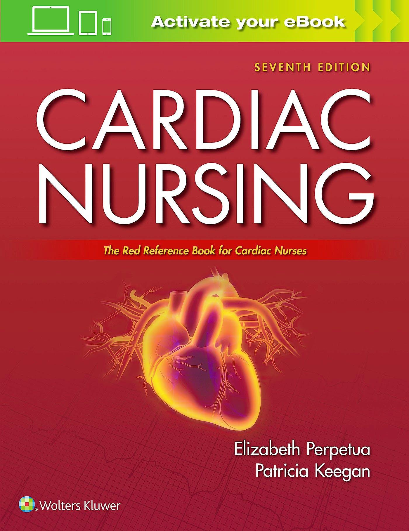 Portada del libro 9781975106324 Cardiac Nursing. The Red Reference Book for Cardiac Nurses