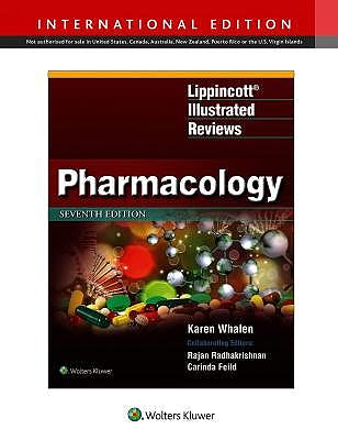 Portada del libro 9781975106706 Pharmacology (Lippincott Illustrated Reviews)
