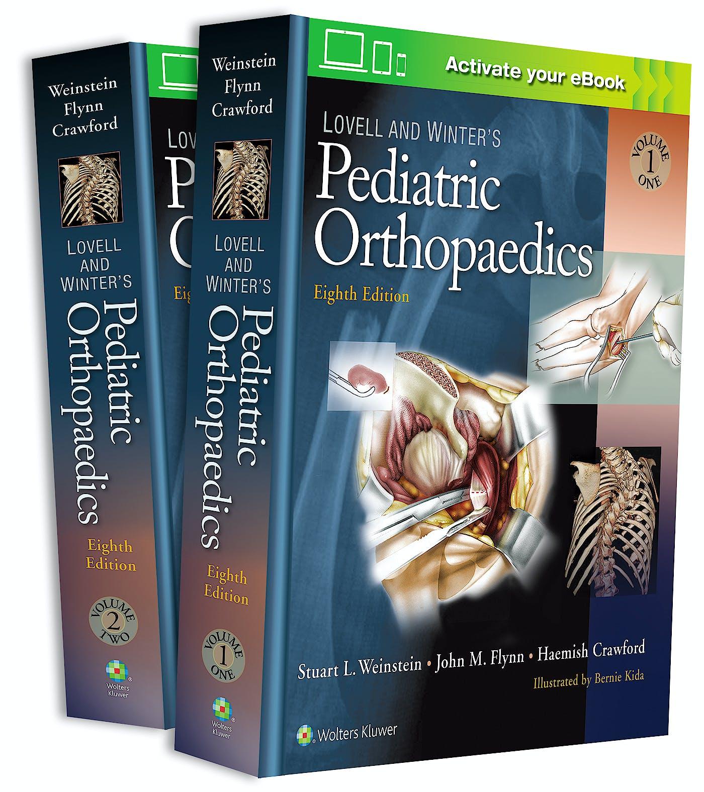 Portada del libro 9781975108663 Lovell and Winter's Pediatric Orthopaedics, 2 Vols.