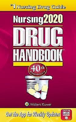 Portada del libro 9781975109264 Nursing 2020 Drug Handbook