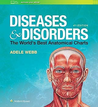 Portada del libro 9781975110239 Diseases and Disorders. The World's Best Anatomical Charts