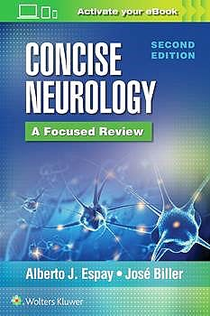Portada del libro 9781975110741 Concise Neurology. A Focused Review