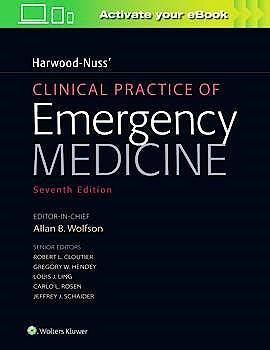 Portada del libro 9781975111595 Harwood-Nuss' Clinical Practice of Emergency Medicine