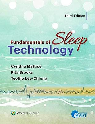 Portada del libro 9781975111625 Fundamentals of Sleep Technology