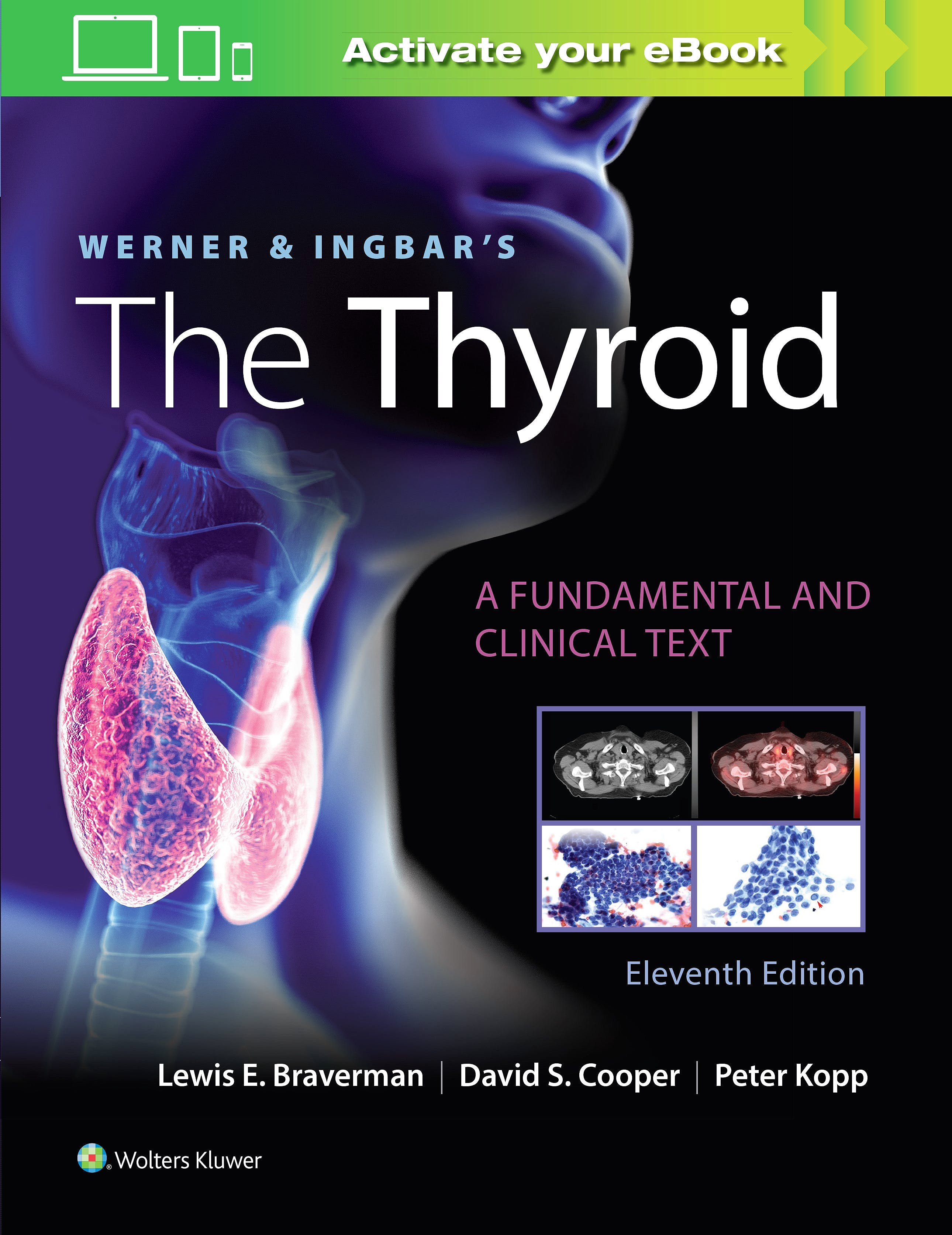 Portada del libro 9781975112967 WERNER and INGBAR's The Thyroid. A Fundamental and Clinical Text