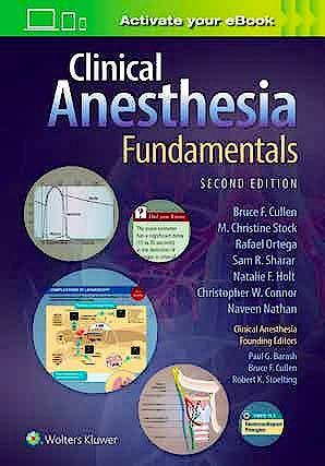 Portada del libro 9781975113018 Clinical Anesthesia Fundamentals