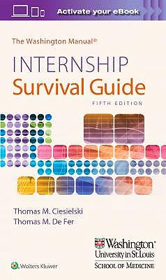 Portada del libro 9781975113285 The Washington Manual Internship Survival Guide