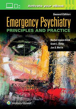 Portada del libro 9781975113681 Emergency Psychiatry. Principles and Practice