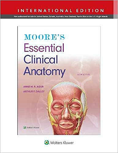 Portada del libro 9781975114435 Moore's Essential Clinical Anatomy (International Edition)