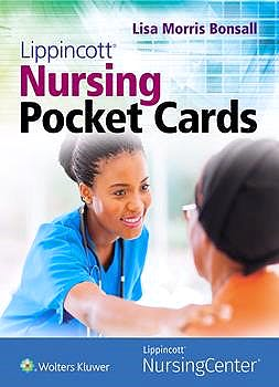 Portada del libro 9781975114541 Lippincott Nursing Pocket Cards