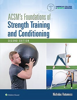 Portada del libro 9781975118754 ACSM's Foundations of Strength Training and Conditioning
