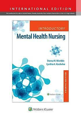 Portada del libro 9781975119768 Introductory Mental Health Nursing (International Edition)