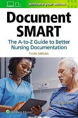 Portada del libro 9781975120733 Document Smart. The A-to-Z Guide to Better Nursing Documentation