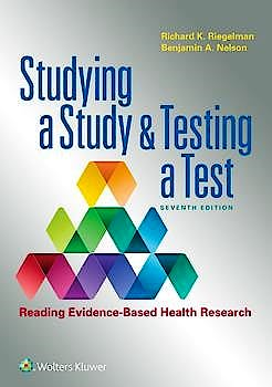 Portada del libro 9781975120894 Studying a Study and Testing a Test. Reading Evidence-Based Health Research