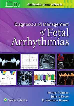 Portada del libro 9781975122867 Diagnosis and Management of Fetal Arrhythmias