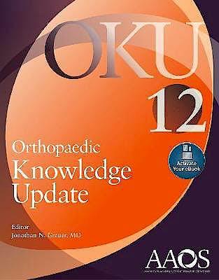 Portada del libro 9781975123895 Orthopaedic Knowledge Update (OKU) 12