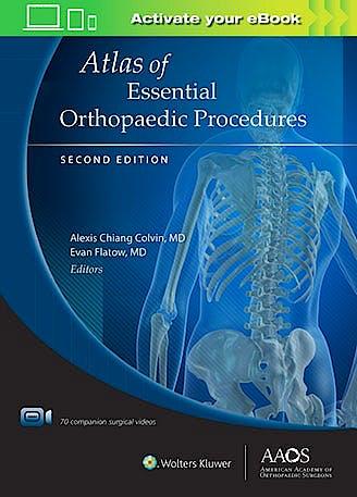 Portada del libro 9781975124861 Atlas of Essential Orthopaedic Procedures + Surgical Videos