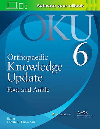 Portada del libro 9781975127152 Orthopaedic Knowledge Update (OKU). Foot and Ankle 6 (Print + E-Book with Multimedia)