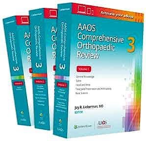 Portada del libro 9781975127176 AAOS Comprehensive Orthopaedic Review 3, 3 Vols.