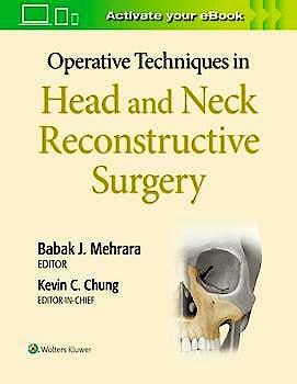 Portada del libro 9781975127251 Operative Techniques in Plastic Surgery. Head and Neck Reconstruction