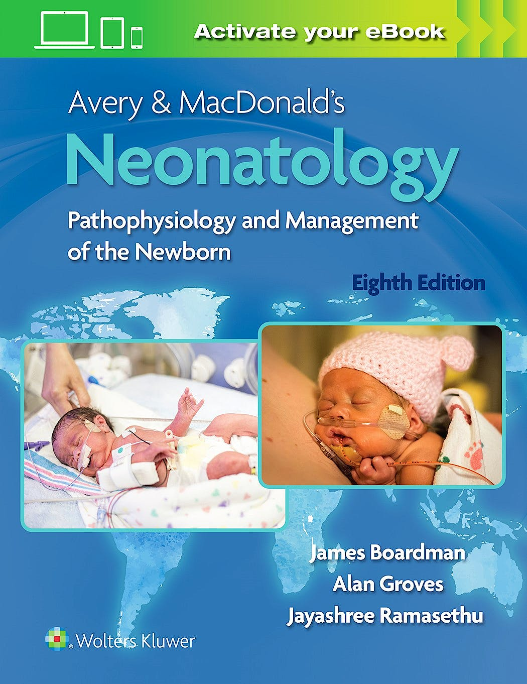 Portada del libro 9781975129255 Avery and MacDonald's Neonatology. Pathophysiology and Management of the Newborn