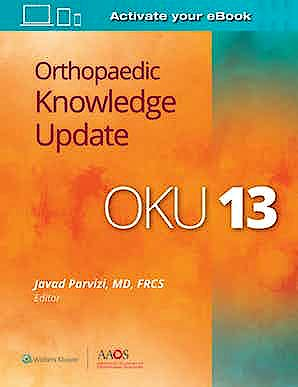 Portada del libro 9781975129521 Orthopaedic Knowledge Update (OKU) 13 (Print + E-Book with Multimedia)