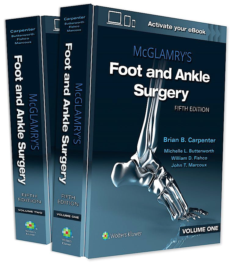Portada del libro 9781975136062 McGLAMRY'S Foot and Ankle Surgery (2 Volume Set)
